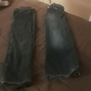 3 pairs of boy jeans